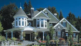 Large Victorian Style House Plans by DFD House Plans