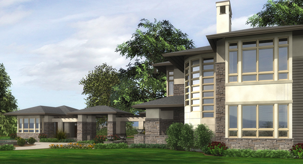 Additional Rendering by DFD House Plans