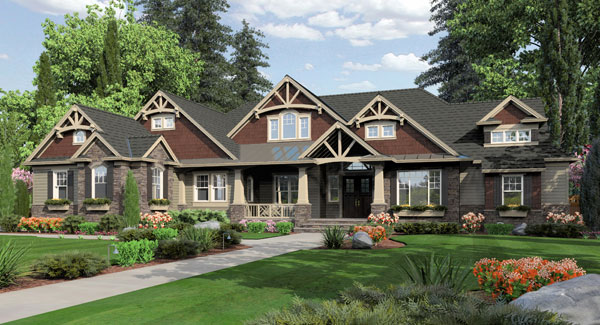 House Plan 3258: Cottage Home Floor Plans