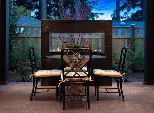Outdoor Living Space by DFD House Plans