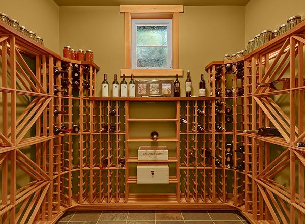 Wine Storage by DFD House Plans