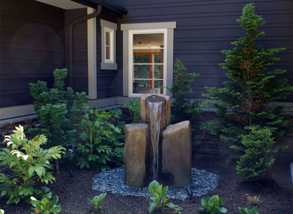 Garden Fountain by DFD House Plans