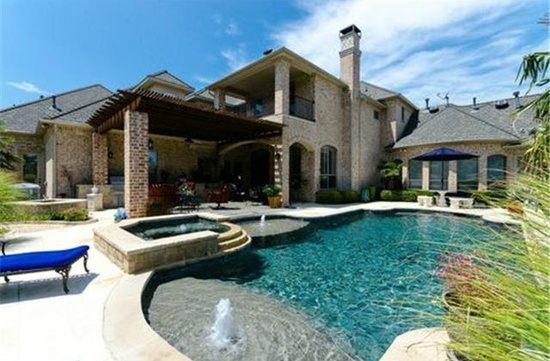 Pool 1 by DFD House Plans