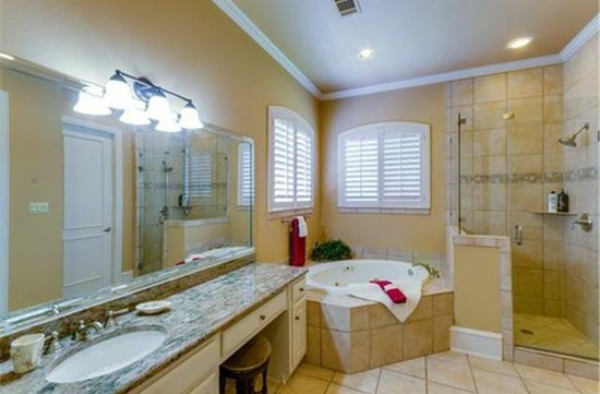 Guest Bath 1 by DFD House Plans