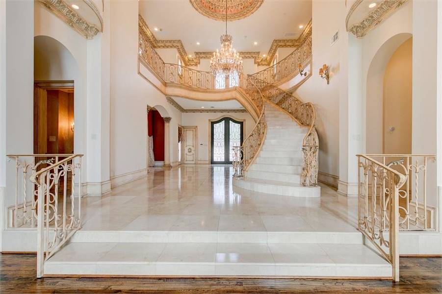 Grand Foyer by DFD House Plans