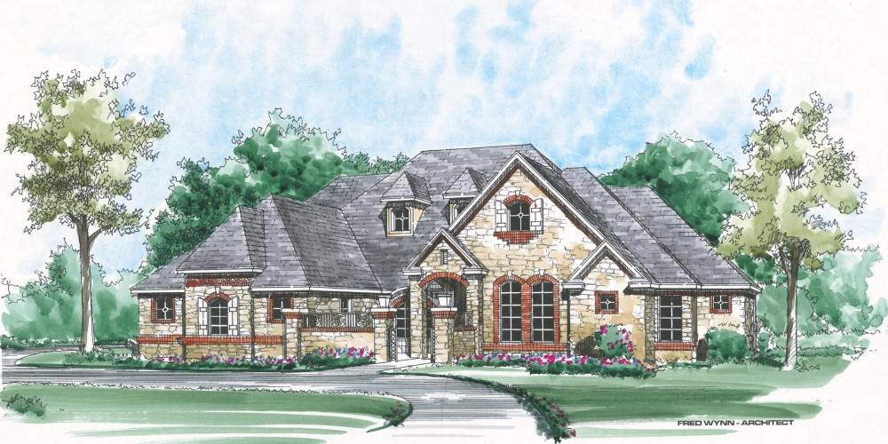 Front Render by DFD House Plans
