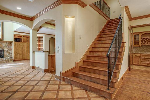 Stairwell by DFD House Plans