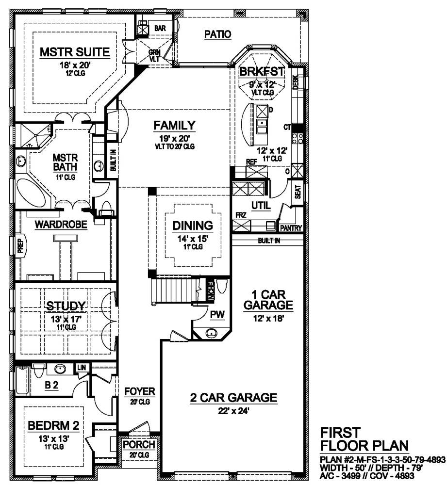 First Floor image of Norwich House Plan
