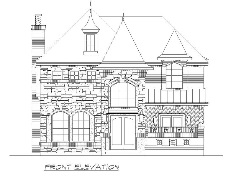 Front  image of Aberdeen House Plan