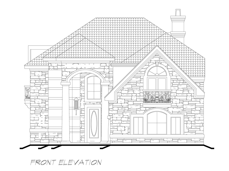 Front  image of Sherry Lane House Plan