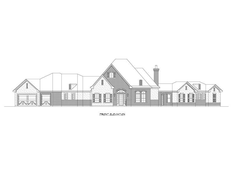 Front image of Park City House Plan