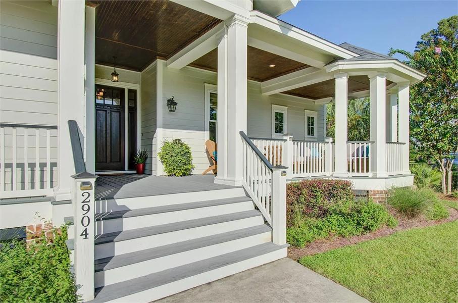 Front Porch & Gazebo