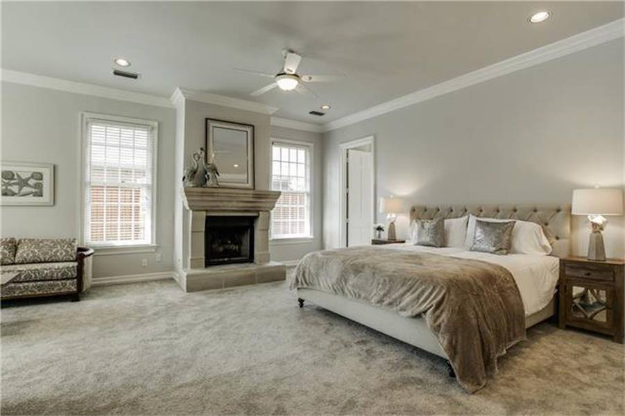 Master Bedroom image of Campbella House Plan