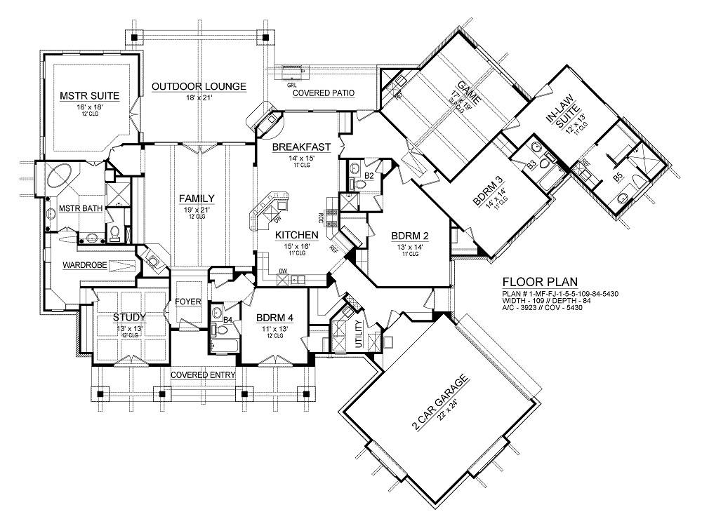 House Plan 2286 from Direct from the Designers