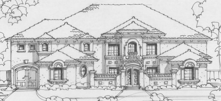 Front 4 by DFD House Plans