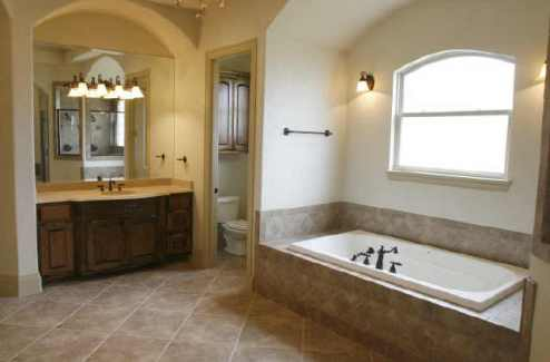 Master Bath 1 by DFD House Plans