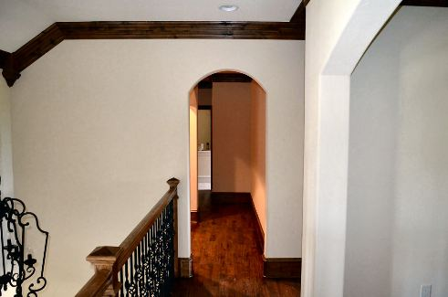 Second Floor Hallway by DFD House Plans