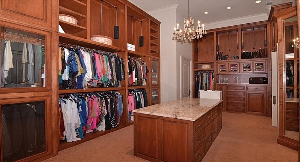 Master Wardrobe 1 by DFD House Plans