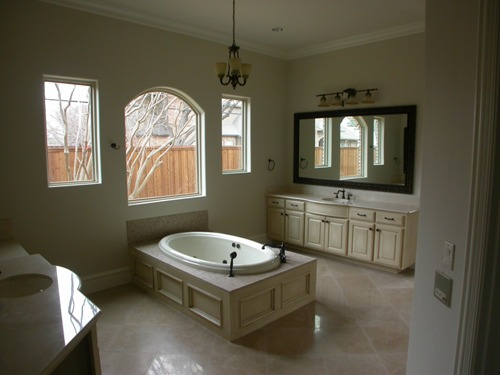 Master Bath 5 by DFD House Plans
