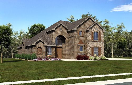 European House Plan with 5 Bedrooms and 4.5 Baths - Plan 4484