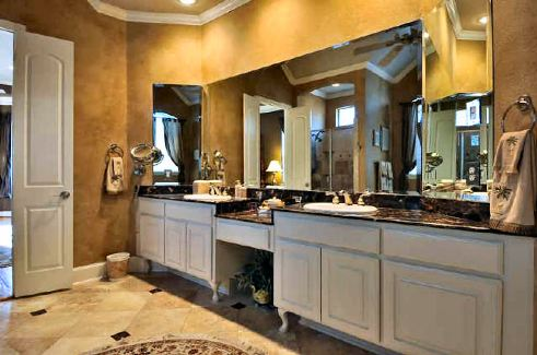 Master Bath 2 by DFD House Plans