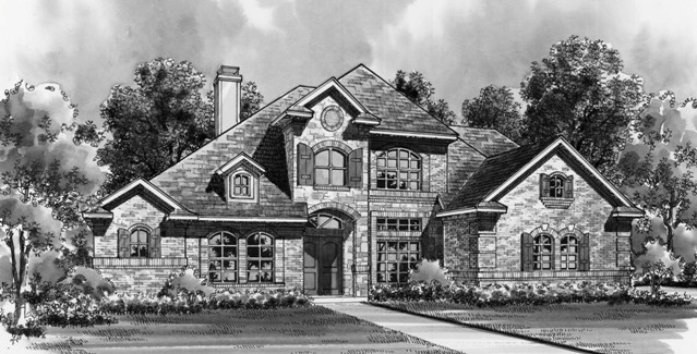 Front 8 by DFD House Plans
