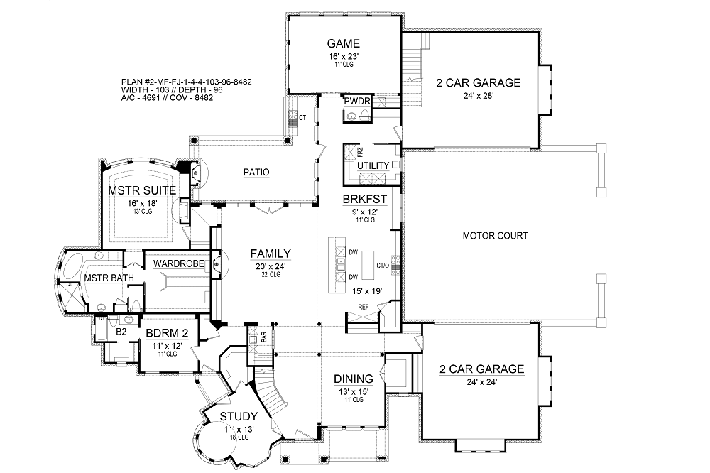 House colchester palace house plan green builder house plans for Palace house plans