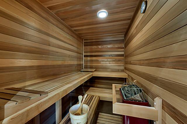 Sauna by DFD House Plans