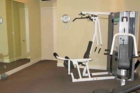 Workout Room by DFD House Plans