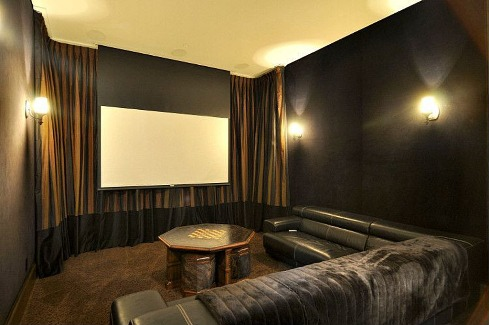 Media room 1 by DFD House Plans