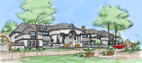 Color Rendering 5 by DFD House Plans