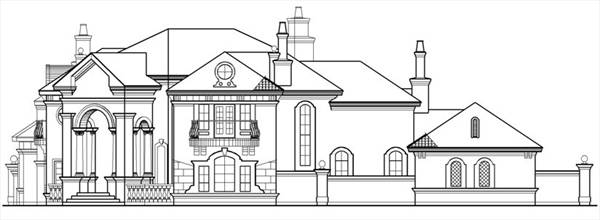 Front Elevation 2 by DFD House Plans