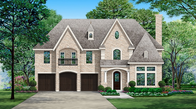 Front Rendering image of Savannah Valley House Plan