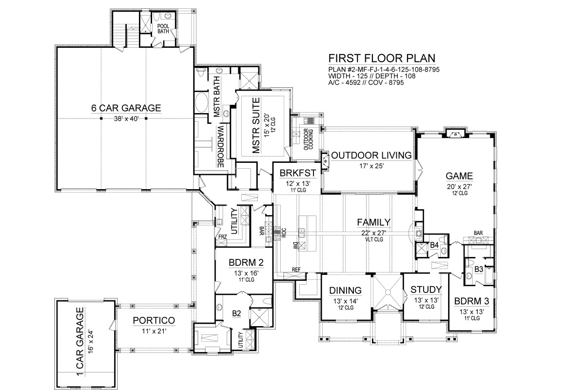 First Floor image of Sienna House Plan