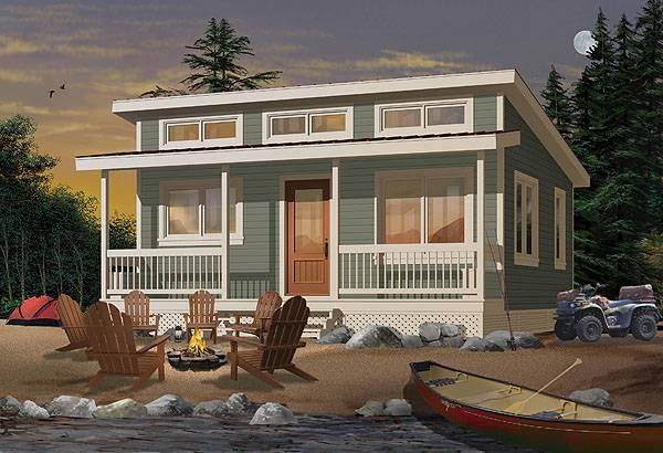 Beach house plan with 2 bedrooms and 1 5 baths plan 1492 for Beach house designs usa