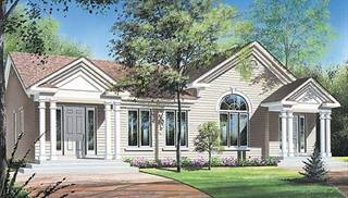 Duplex Floor Plans by DFD House Plans