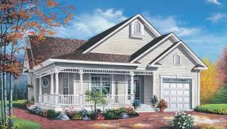 Victorian Home Designs by DFD House Plans