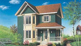 Victorian Home Ideas by DFD House Plans