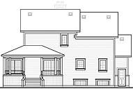 Rear by DFD House Plans