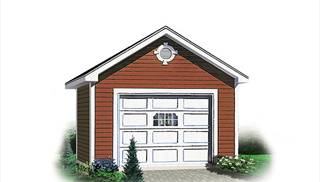 Single Garage Plans by DFD House Plans