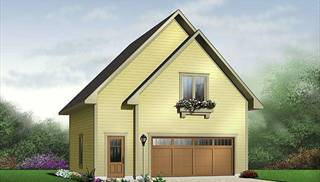 Accessible Contemporary Style Home Plans by DFD House Plans