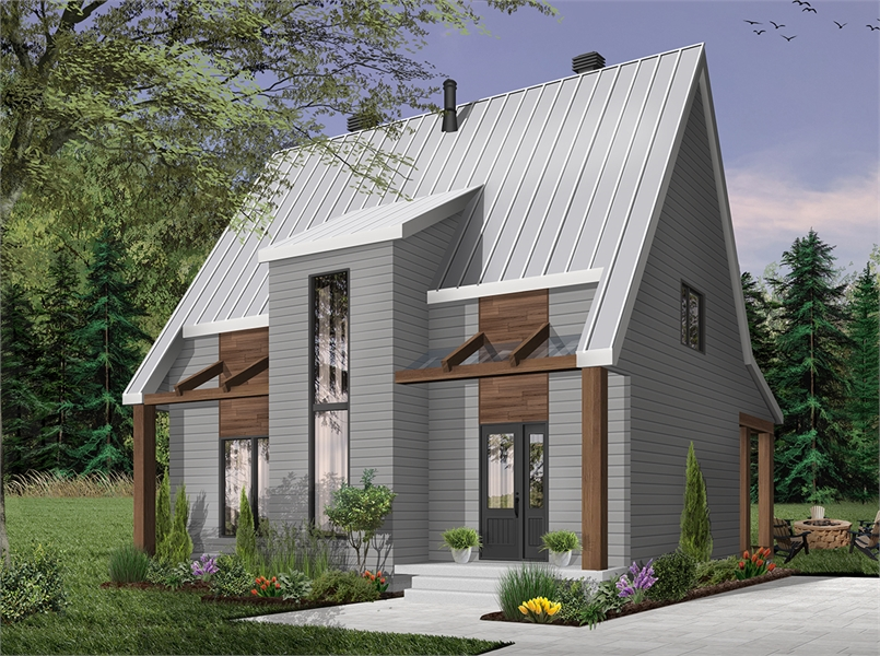 Front image of Scandi House Plan