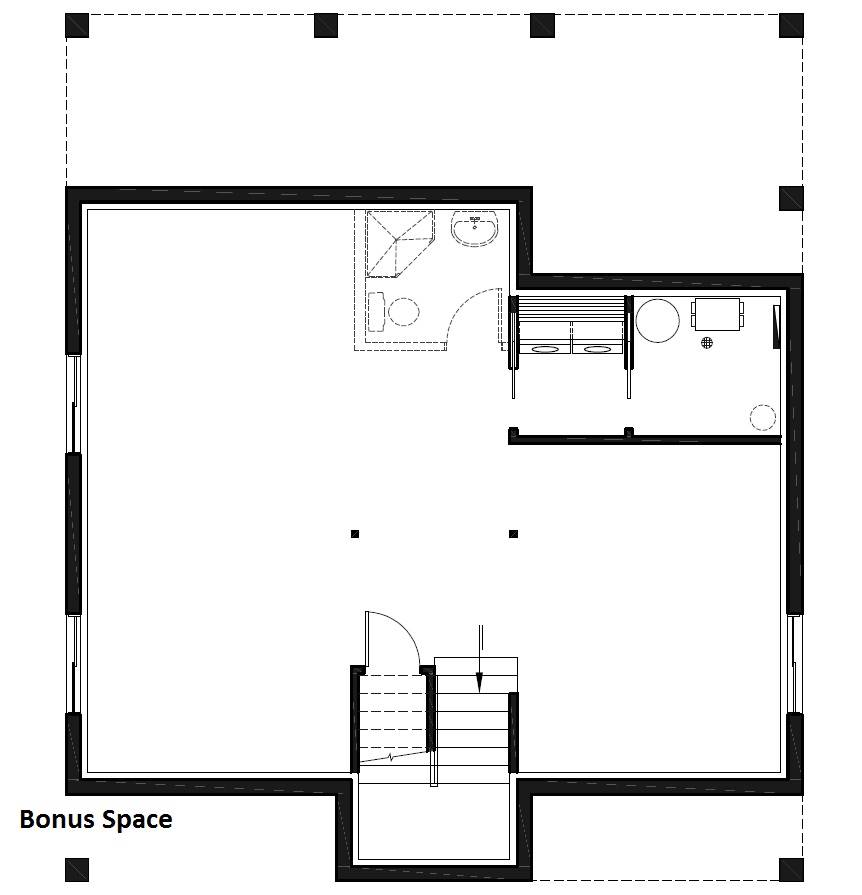 Basement image of Scandi House Plan