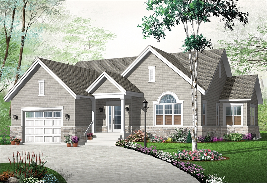 Front image of Kipling 2 House Plan