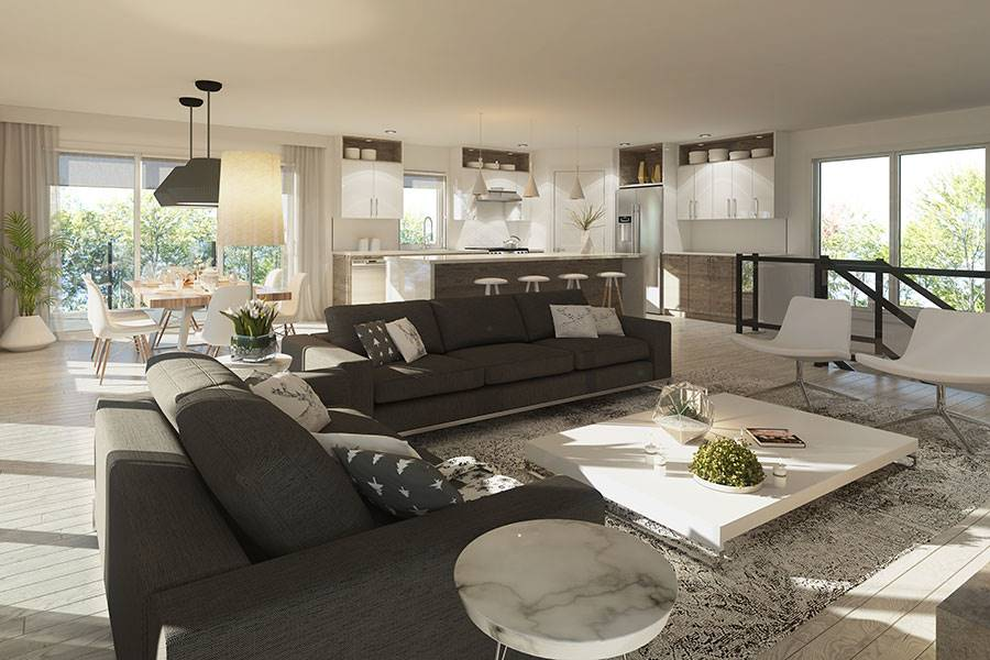 Living room image of Oslo House Plan