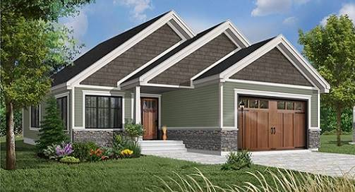 Front image of Oakland House Plan