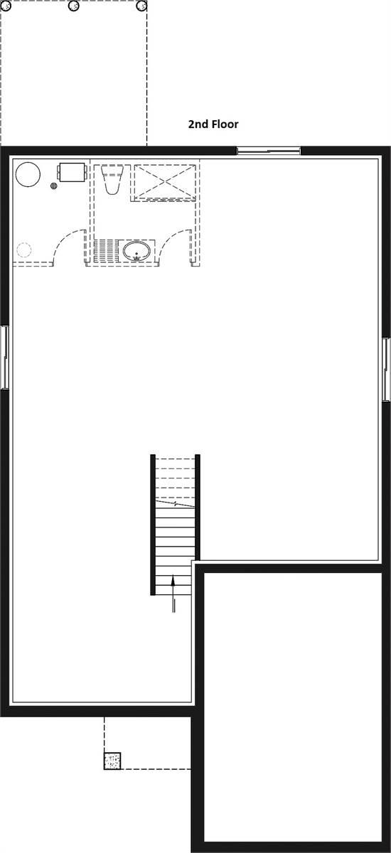 Basement image of Oakland House Plan