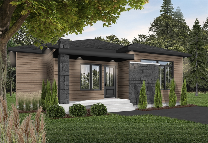 Front image of Camille House Plan