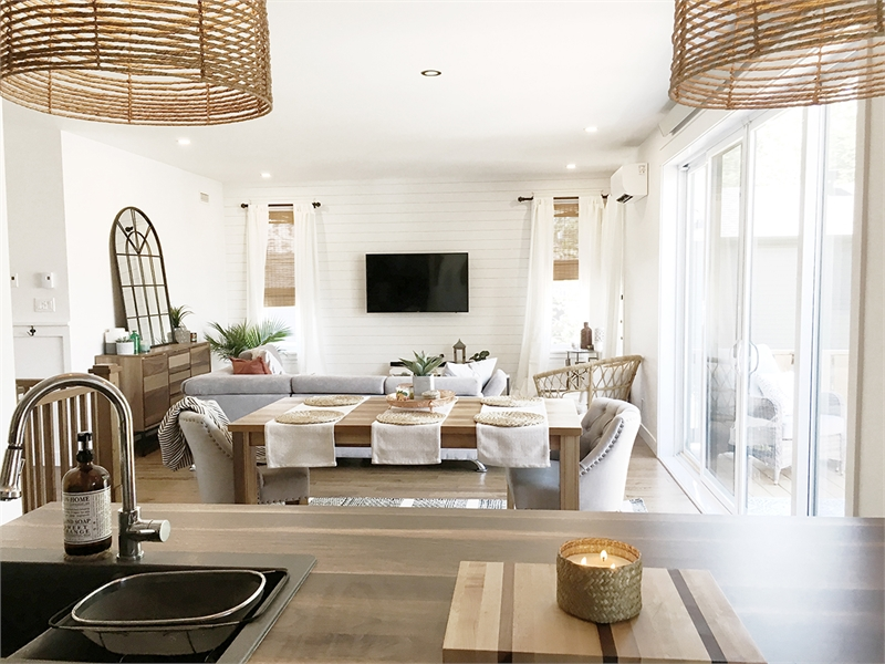Living room image of Camille House Plan
