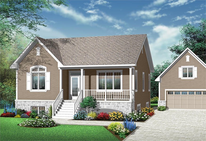 Front image of Madeira House Plan